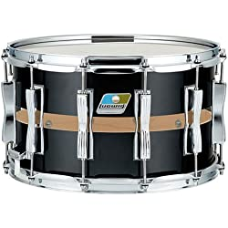 "Ludwig Slotted Coliseum 14""x 8"" Black Cortex · Snare drum"