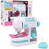 Zerodis. Mini Portable Kid's Sewing Machine Electric Medium Size Sewing Style Craft Kit