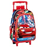 Cars - Carro infantil, color azul y rojo (Montichelvo Industrial...