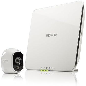 Arlo VMS3130 Telecamera di Sicurezza Wifi, senza Fili, Alimentata a Batterie, HD, Kit 1 Telecamera
