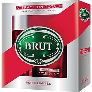 Brut Coffret cadeau homme Attraction Totale - Eau de toilette + déodorant