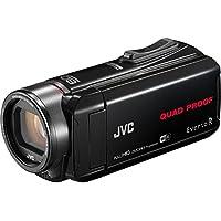 JVC GZ-RX645BEU Videocamera Full HD QUAD PROOF, subacquea fino 5m e resistente a forti getti d'acqua, antiurto, antipolvere, anticongelamento, fotocamera 10 Megapixel, Wi-Fi, memoria integrata da 8GB, Nero