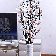 JIALE3536 Fiori artificiali Mazzo Di Fiori Di Plastica Decorativa Terra  Secca Fiore Fiore Fiore Decorazione Floreale