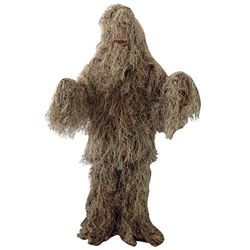 e Ghillie Suit Kit für Jagd, Kriegsspiel und Halloween, Color 2 (Ghillie-suit Halloween)