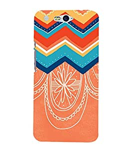 Ebby Premium Printed Back Case Cover With Full protection For Infocus M812 (Designer Case)