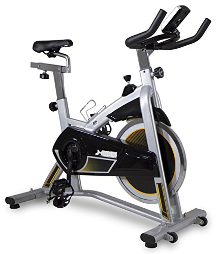 BH Fitness J-BIKE H9135RF indoor cycle / Indoor cycling / Indoor bike / PolyV-Riemen / 16 kg Schwunggewicht/ Ideal für Anfänger mit dem indoor cycling