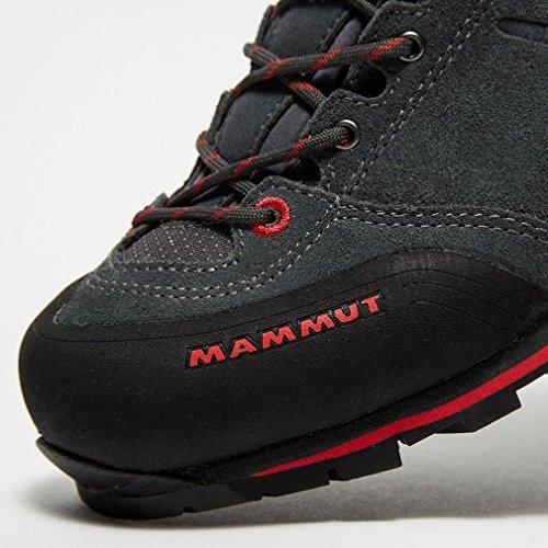 Mammut Guide mur homme faible approche Chaussures de marche Gris Foncé