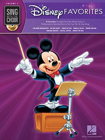 Disney Favorites [With CD] (Sing with the Choir)