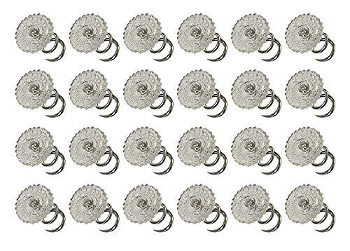 """HEMLINE TWIST PINS SPIRAL SHAFT 13mm H710 ½"""" STRONG GRIP UPHOLSTERY HOME"""