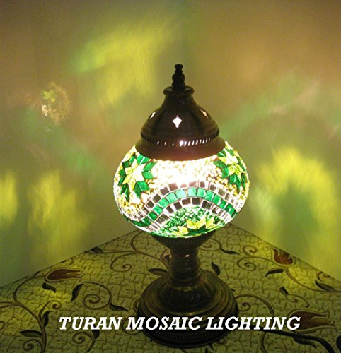 Amazing Christmas Gifts AMAZING HANDCRAFTED Turkish&Moroccan Mosaic Table Lamps for Living Room&Bedroom