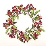 Minmin Christmas Wreath salone della casa di attaccatura di parete Porta Hanging vacanze layout appuntamento autunnale della decorazione di festa Corona di fiori, una varietà di stili disponibili deco