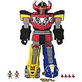 Fisher-Price - Figura de acción con diseño Morphin Megazord Power Rangers (Mattel CHJ18)