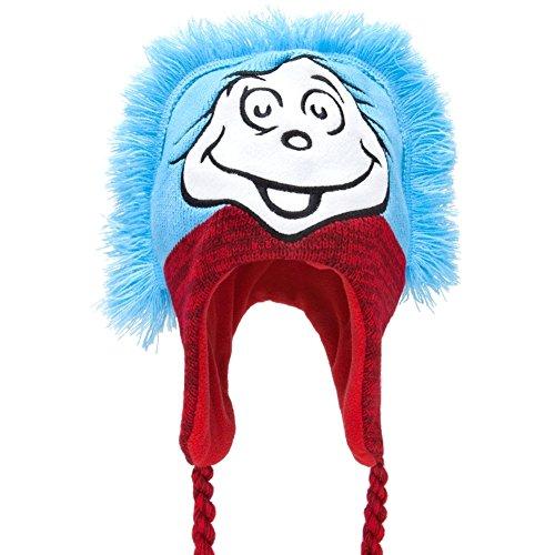 Dr. Seuss - Sache 1/2 Mohawk peruanischen stricken (Dr Seuss Hüte)