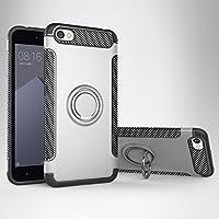 Funda Xiaomi Redmi Note 5A Movil Coche Magnético Cubierta, Mosoris Multi-Funcional TPU+PC de Doble Capa Protectora Bumper Caso Anillo Giratorio Carcasa Ring Grip 360 Grados de Rotación Soporte