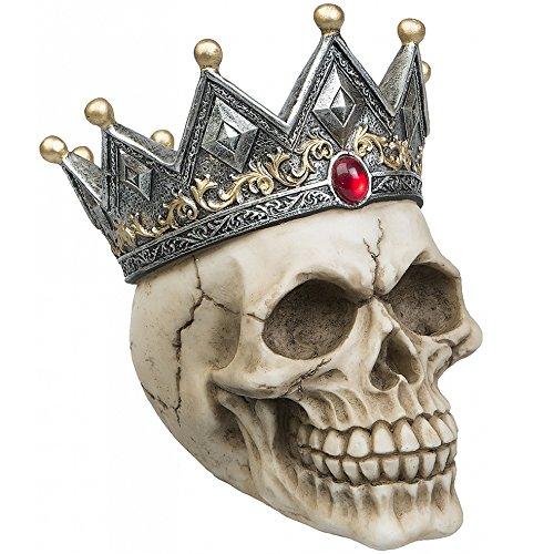 AST Deko Totenschädel Totenkopf Skull Spardose King Gothic -