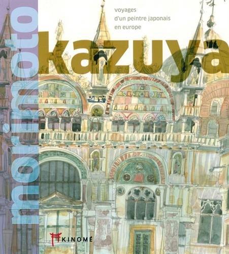 Voyages d'un peintre japonais en Europe : Edition français-anglais-japonais