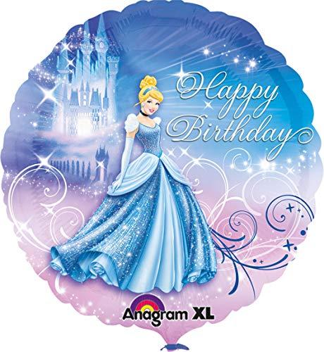 Einer Von Ein Kostüm Art Märchen - amscan 2481501 Folienballon Cinderella Geburtstag, Mehrfarbig