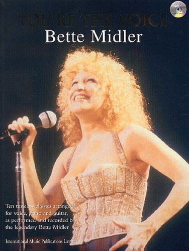 Bette Midler You're The Voice P/V/G + CD
