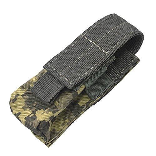 Beetest-Taktische Tasche Taschenlampe Gürtel Tasche Hängende Pouch bunt