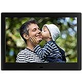 JOEAIS Cadre Photo numérique, SSA 10.1' 1280x800 Haute résolution Full IPS Photo/Musique/Lecteur Vidéo Calendrier Alarme...