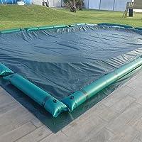 Telo di copertura invernale per piscine 915 x 470cm interrate