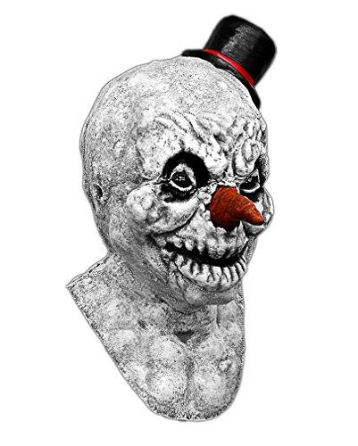 Unheimliche Schneemann Maske