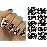 Arte de uñas: Calcomanías y autoadherentes Transferible con Agua KH002A Pegatina Tatuaje para Uñas Nail Sticker - FashionLife