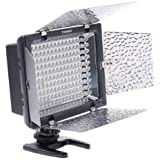 Yongnuo Lampe LED torche vidéo pour Appareil Photo Reflex Canon 600D 60D 550D 5DII 7D Nikon Caméscope DV
