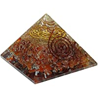 Harmonize Karneol Stein Orgon Pyramide Milzchakra Symbol Reiki Kristall-Energie-Generator preisvergleich bei billige-tabletten.eu