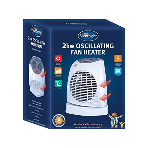 515hD59LRPL. SS500  - Silentnight 38420 Fan Heater, 2000 W