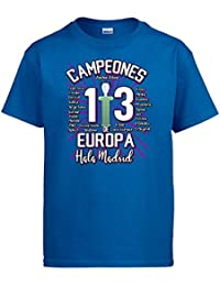 Diver Camisetas Camiseta Real Madrid Campeones de Europa 13 decimotercera  HALA Madrid da6e3d88ab260