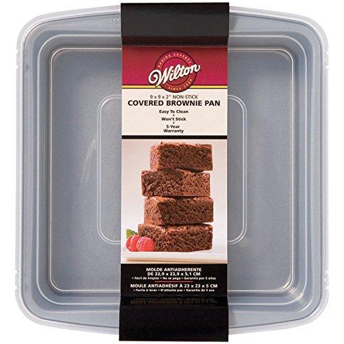 Wilton 2105-9199 - Molde cuadrado para brownies