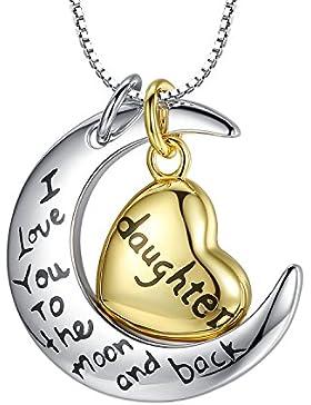 100% Sterling Silber Gelb Herz