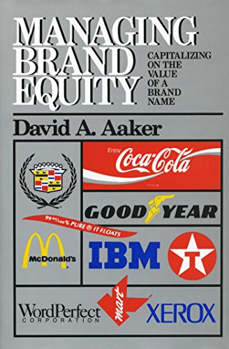 Managing Brand Equity: Capitalizing on the Value of a Brand Name (English Edition)