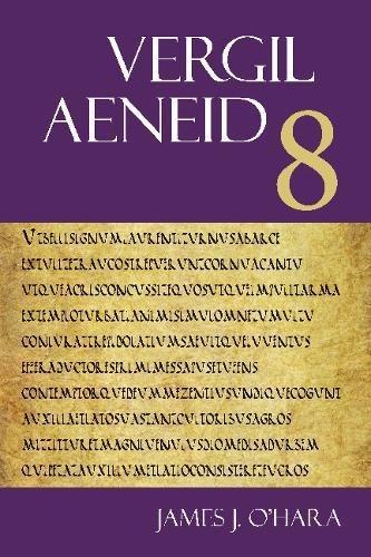 Vergil: Aeneid 8 (The Focus Vergil Aeneid Commentaries) por Vergil