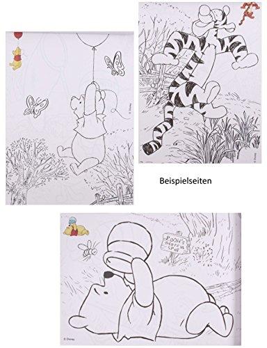 "Sticker & Malblock – "" Disney Winnie the Pooh "" – Malbuch / Malblock ..."