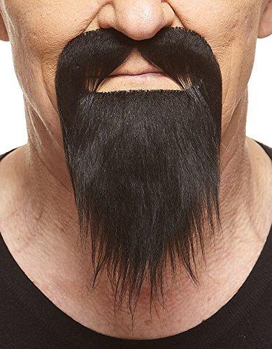 (Mustaches Schwarzer Ducktailr fälschen, selbstklebend Bart)