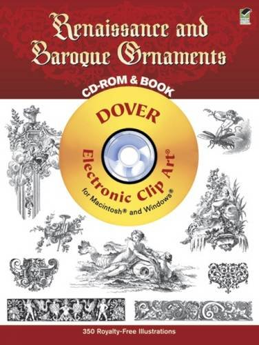 Renaissance and Baroque Ornaments (Dover Electronic Clip Art)