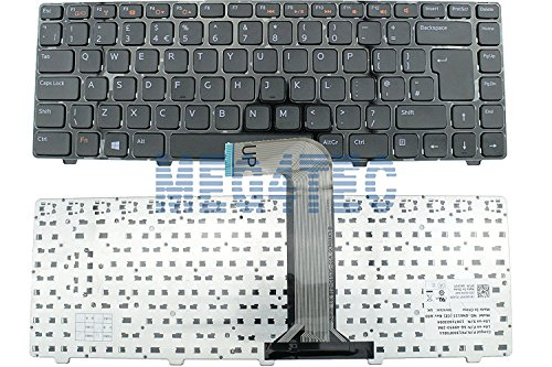 Dell Inspiron N5040 N5050 N4050 N4110 3520 XPS L502 X kcp3t Tastatur UK Layout F4