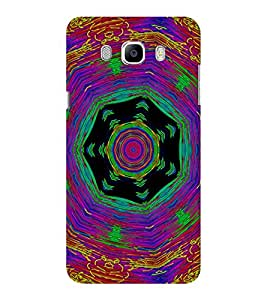 EPICCASE Animated Pattern With lines Mobile Back Case Cover For Samsung J5 2016 (Designer Case)