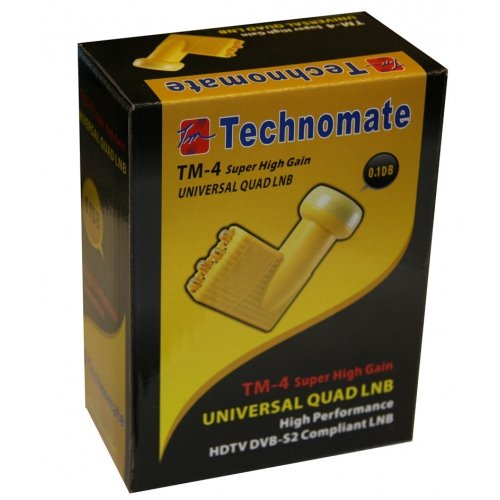 Technomate TM 0,1 dB, 4 Universal Quad LNB Super High Gain