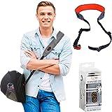 EZ-GO -Bandoulière pour casque de moto - Accessoire permettant d'avoir les mains...