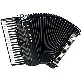 piano-accordion Morino + IV 120Bass, IV Voices, Black