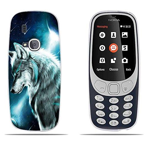 DIKAS Custodia Nokia 3310 (2017), Fantasia 3D Contemporaneo Chic Design Ultra Slim TPU Skin Cover Protettiva Shell Custodia per Nokia 3310 (2017)- PIC: 18