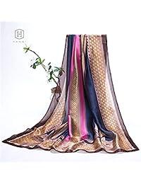 Foulard En Soie Luxe Les Femmes En Foulard Impressionnantes Soie Foulard  Essent 35f2c8b4899