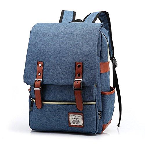 Zaino Retro Oxford Zaino Da Laptop Zaino Da Scuola Zaino Da Scuola Daypack Daypack Per Ragazzi Ragazze Verde Chiaro Blu Navy