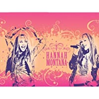 Hannah Montana Party Tablecover, plastic by Amscan