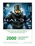 Xbox 360 - Live Points Card 2000 - im Design von Halo 4