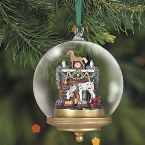 2010 Breyer Yuletide Glass Globe Ornament - 8th in Series by Breyer