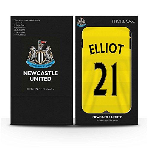 Offiziell Newcastle United FC Hülle / Matte Snap-On Case für Apple iPhone 7 / Sissoko Muster / NUFC Trikot Home 15/16 Kollektion Elliot